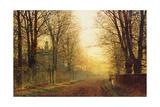 John Atkinson Grimshaw - The Autumn's Golden Glory Digitálně vytištěná reprodukce