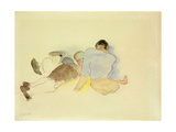On the Beach Giclée-trykk av Charles Demuth