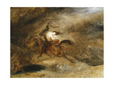 Lenore, Les Morts Vont Vite Giclee Print by Ary Scheffer