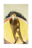 Vaudeville Figure Giclee Print by Charles Demuth
