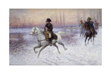 Napoleon at the Head of a Troop of Cavalry Giclee Print by Jan Van Chelminski