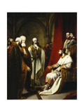 Henry III Replying to the Archbishop of Canterbury and the Bishops of Salisbury, Winchester and… Giclee Print by Richard Westall