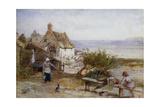 Runswick Bay, Yorkshire Giclee Print by Myles Birket Foster