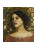 The Rose Bower Giclee Print by John William Waterhouse