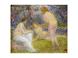 Bathers; Les Baigneuses Giclee Print by Hippolyte Petitjean