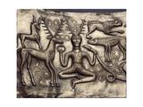 Panel of the Gundestrup Cauldron Impressão giclée
