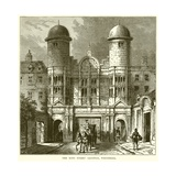 The King Street Gateway, Whitehall Giclee Print