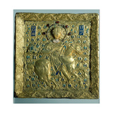 Gold and Enamel Icon Depicting St Giclee Print