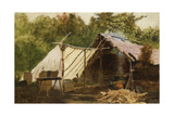 Camp in the Main Wood No, 1879 Giclee Print by John George Brown