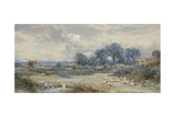 A View on Holmwood Common, Surrey Giclee Print by Myles Birket Foster