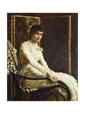 Portrait of the Artist's Wife Marian Huxley in Her Wedding Dress, 1880 Giclee Print by John Collier
