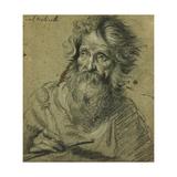 Saint Paul Lámina giclée por Bernardo Strozzi