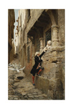 A Narrow Escape Giclee Print by Maurice Leloir