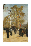 L'Avenue Victoria, 1876 Giclee Print by Pierre Vauthier