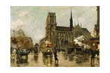 Notre Dame, Paris Giclee Print by Georges Stein