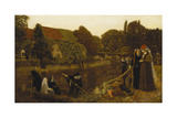 The Convent Boat, 1874 Giclee Print by Arthur Hughes