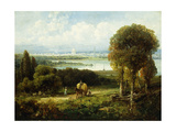 View of Washington, D Giclee Print by Andrew Melrose