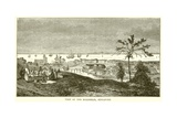 View of the Roadstead, Singapore Giclee Print by  English School