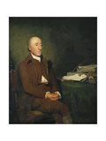 Portrait of Dr James Hutton, Seated Three-Quarter Length in a Brown Jacket and Breeches and White… Giclee Print by Sir Henry Raeburn