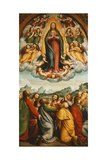 The Assumption of the Virgin Giclee Print by Bernardino Ferrari