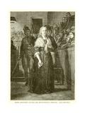 Marie Antoinette Leaving the Revolutionary Tribunal Giclee Print by Hippolyte Delaroche