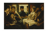 Travelling Present 1860 'tickets Please', 1861 Giclee Print by Thomas Musgrave Joy