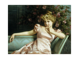 A Young Beauty Giclee Print by Vittorio Reggianini
