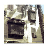View of Cairo Houses with Masharabiyya Giclee Print