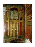 Fresco of an Elaborately Decorated Doorway from the Villa of the Mysteries Giclee Print