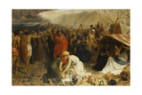 Refugees from Pompeii, Ad 79, 1873 Giclee Print by Francis William Topham