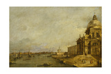 Santa Maria Delle Salute and the Entrance to the Grand Canal, Venice, Looking East Giclee Print by Francesco Guardi