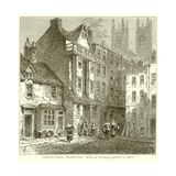 Caxton's House, Westminster Giclee Print
