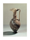 Glass Vase with Elaborate Spout Giclee Print