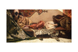 The Odalisque, 1882 Giclee Print by Jean Joseph Benjamin Constant