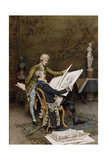 The Connoisseurs Giclee Print by Giuseppe Signorini