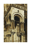 The South West Portico of St Giclee Print by John Ruskin