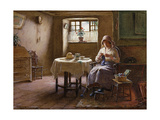 A Fisherman's Wife - Fifeshire Interior Giclee Print by William Kay Blacklock