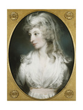 Portrait of Mary Wood, 1794 Giclee Print by John Russell