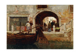 A Venetian Archway, 1893 Giclee Print by Terrick Williams