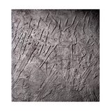 Stone Relief from the Palace of Sennacherib, Depicting the Assault on the Gate Tower of Lachish Giclee Print