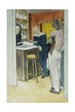 Bistro, Havre Giclee Print by Glyn Warren Philpot