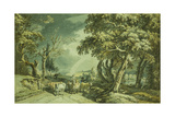 Going to Market Giclee Print by Paul Sandby