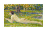 Reclining Woman; Femme Allongee Giclee Print by Hippolyte Petitjean