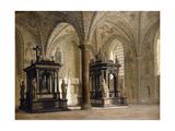 Roskilde Cathedral, Denmark, 1874 Giclee Print by Heinrich Hansen