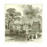 Cavendish Square, 1820 Giclee Print