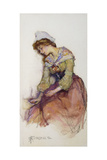 Idle Moments Giclee Print by Elizabeth Adela Stanhope Forbes