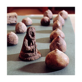 Miniature Figurines, So-Called 'Hnefi', Belonging to the 'Hnefatafl' (A Set of Games) Giclee Print