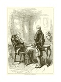 Lafayette and Washington Giclee Print