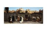 Roman Street Scene, 1872 Giclee Print by Charles Caryl Coleman
