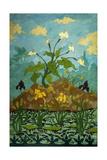 Lilies, Purple and Yellow Irises; Aromes, Iris Violets Et Jaunes, 1899 Giclée-Druck von Paul Ranson